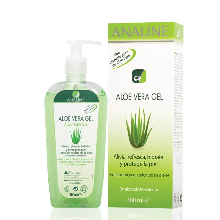 Gel Aloe Vera Analine. Farmasierra.