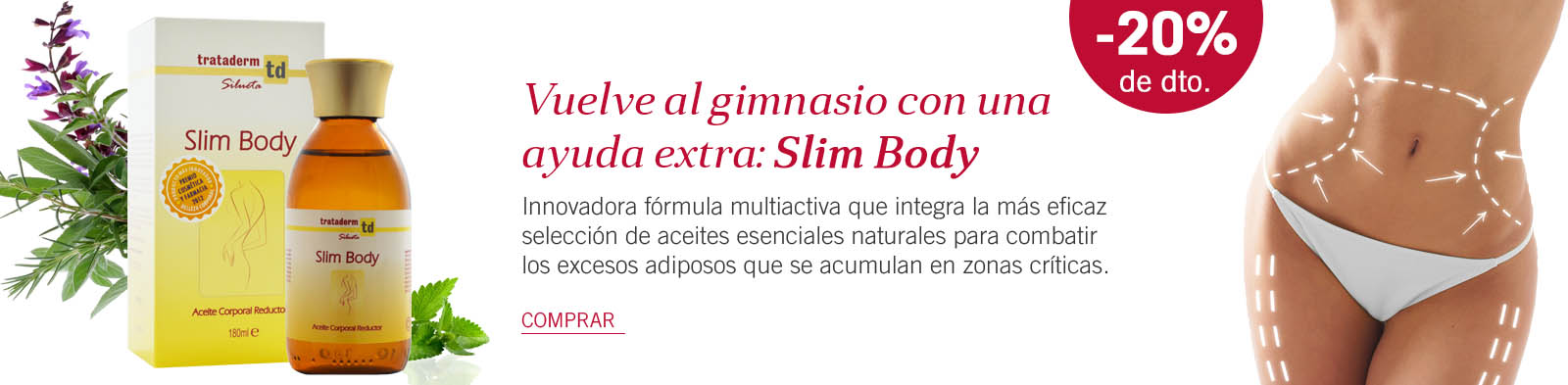 Slim Body | Aceite Corporal Reductor