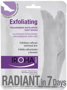 Calcetines exfoliantes Iroha Nature