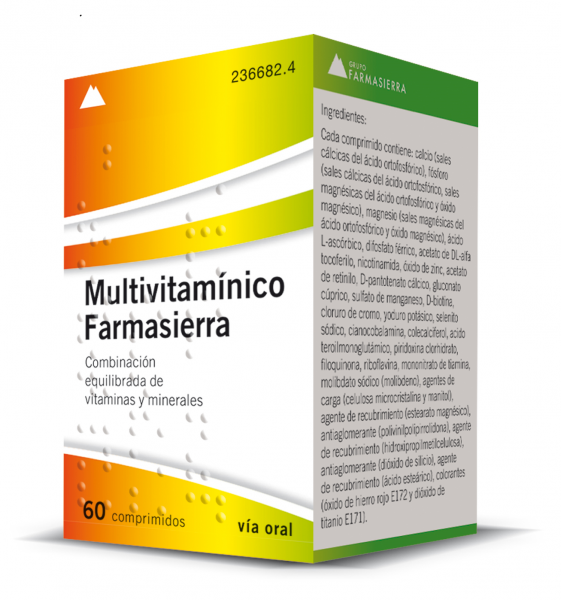 MULTIVITAMINICO FARMASIERRA